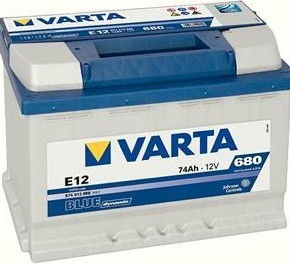 Varta Blue Dynamic 12V 74Ah 680A