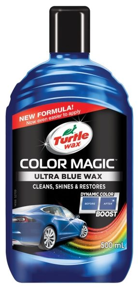 turtle wax color magic modrý