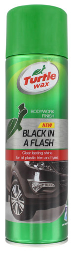 FG7615 UK Black in a Flash 500ml Aero Front
