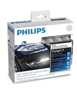 Philips LED 12V 2x3,5W denné svetlá- 9LED- 6000K