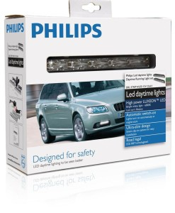 Philips LED 12V 5W denné svetlá - 4LED- 6000K