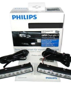 Philips LED denné svetlá 12V 5W 9LED 6000K