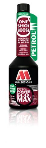 Millers Oils Petrol Power ECOMAX - One Shot Boost 250 ml