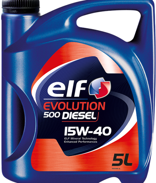 ELF EVOLUTION 500 TURBO DIESEL 15W40